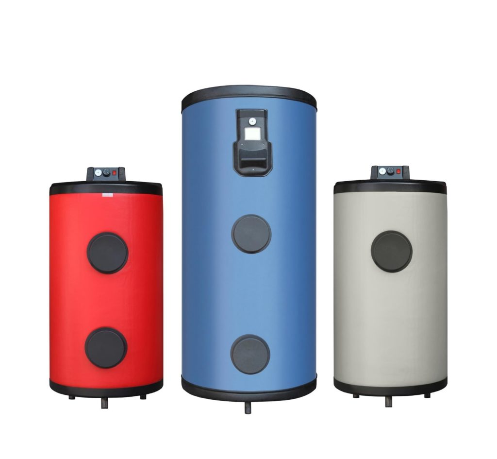 Gas lines water heaters winter