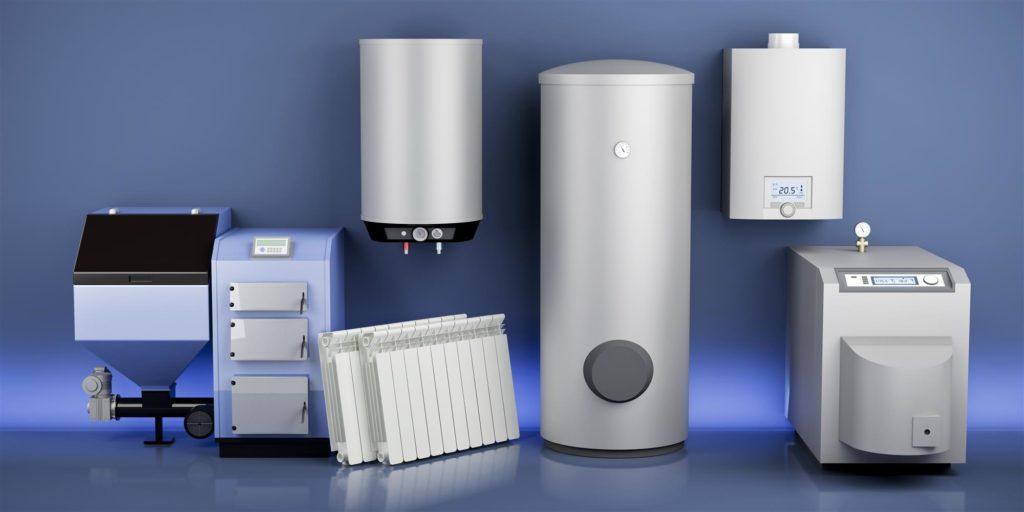 white water heater or boiler