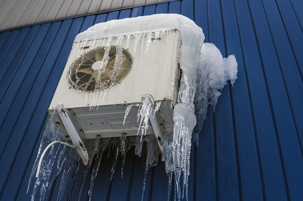 Air conditioning in ice, severe winter