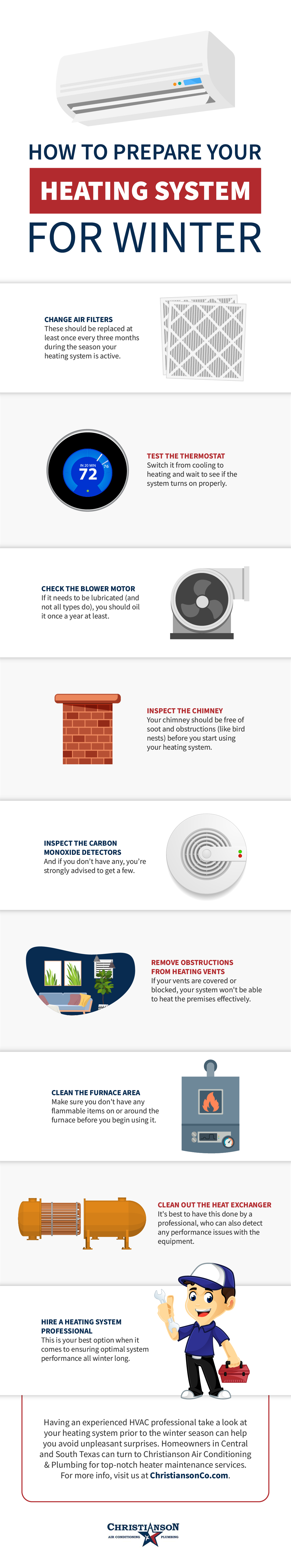 How to Prepare Your Heating System for Winter Infographic